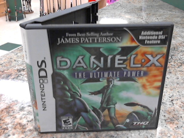 NINTENDO Nintendo DS Game DANIEL-X THE ULTIMATE POWER
