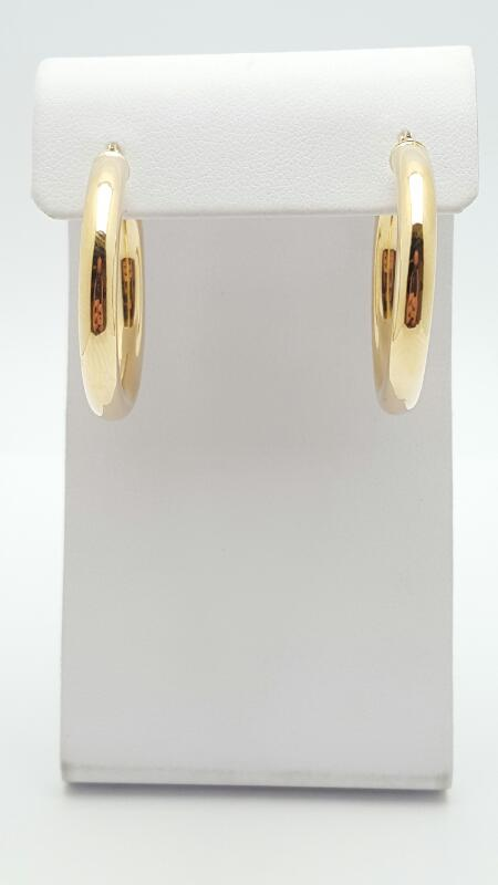 Gold Earrings 14K Yellow Gold 3.3g