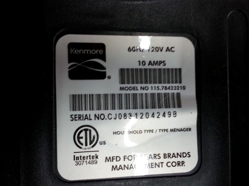 KENMORE Vacuum Cleaner 115.78423210