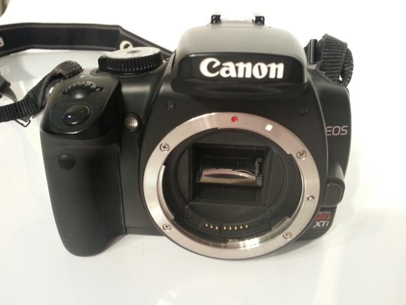 CANON EOS REBEL XTI - 400D DIGITAL CAMERA]