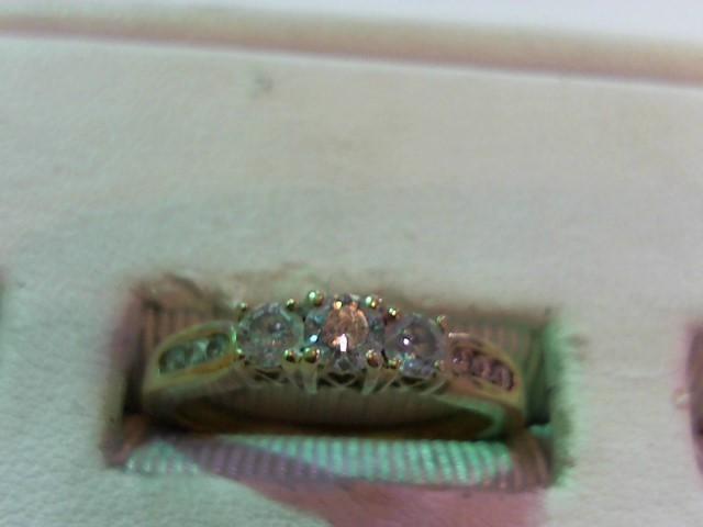 Lady's Diamond Wedding Band 9 Diamonds .50 Carat T.W. 14K Yellow Gold 3.1g