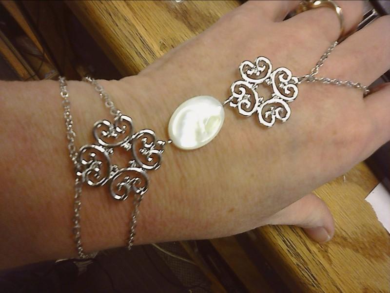 Bracelet Silver Stainless 5.2dwt