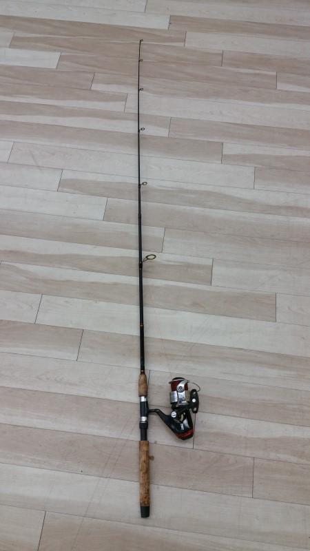 ZEBCO Fishing Pole HAWG SEEKER