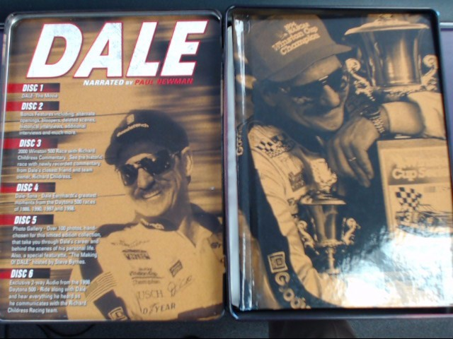 DVD BOX SET DALE NARRATED BY PAUL NEWMAN