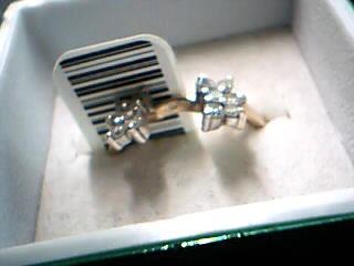 Lady's Diamond Cluster Ring 9 Diamonds 1.30 Carat T.W. 18K Yellow Gold 7.3g