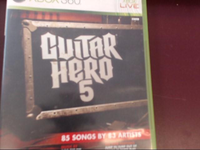 MICROSOFT Microsoft XBOX 360 Game GUITAR HERO 5