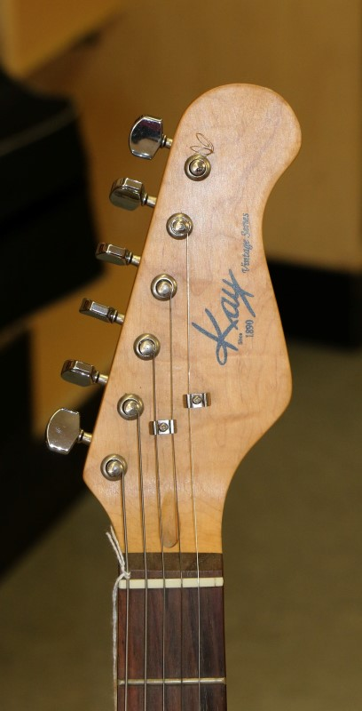 KAY MUSICAL INSTRUMENTS Electric Guitar VINTAGE SERIES
