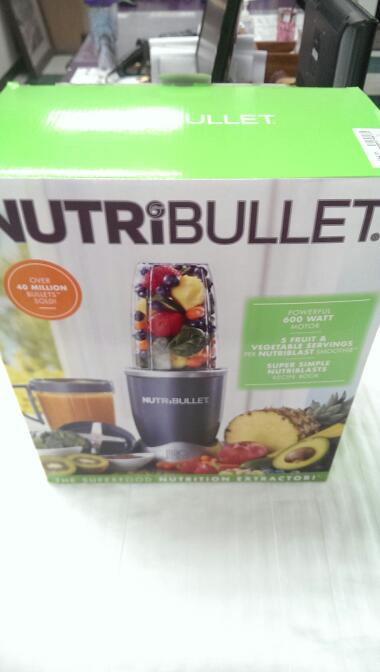 NutriBullet 8-Piece Nutrition Extractor Blender NB-BX180-23