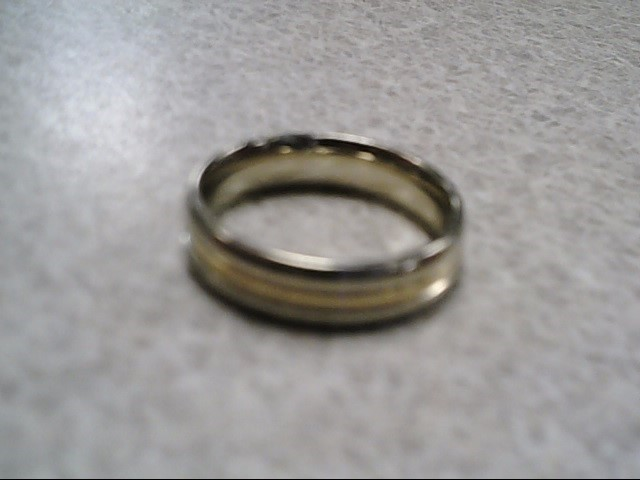 Lady's Wedding Band 14K Tri-color Gold 4.69g Size:6