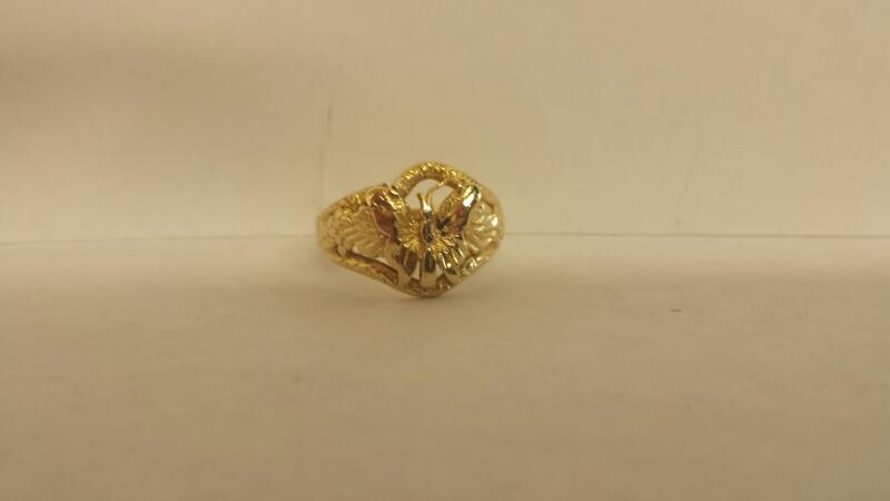 Lady's Gold Ring 14K Yellow Gold 2dwt Size:6.5