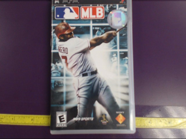 SONY PSP UMD MLB MAJOR LEAGUE BASEBALL
