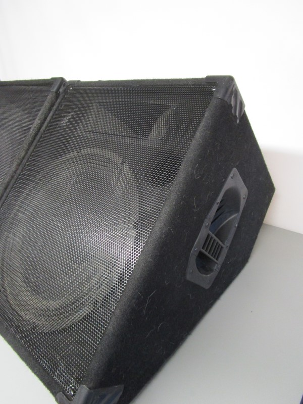 SOUND PRODUCTIONS FLOOR MONITORS (PAIR)