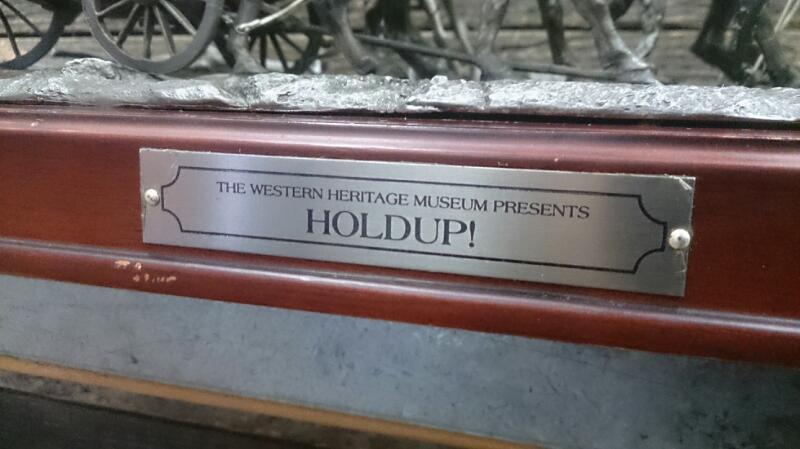 franklin mints '' Holdup '' STATUE
