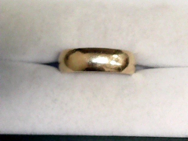Gent's Gold Wedding Band 22K Yellow Gold 6.6dwt