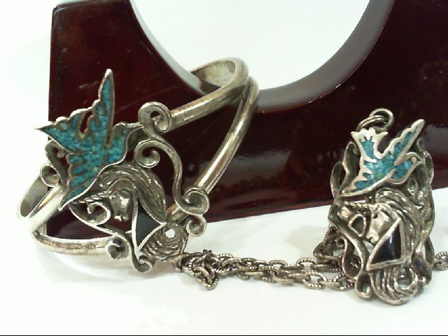 Silver Bracelet 925 Silver 42.2g