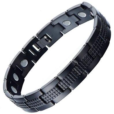 Bracelet Black Stainless 27.75dwt