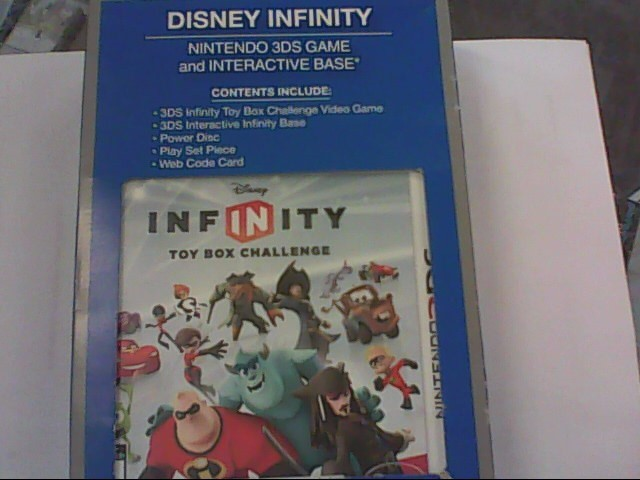 NINTENDO Nintendo 3DS Game DISNEY INFINITY 3DS GAME AND INTERACTIVE BASE