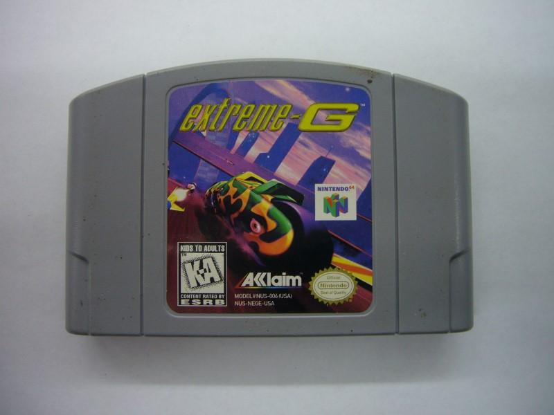 NINTENDO 64 Game EXTREME-G *CARTRIDGE ONLY*