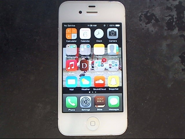 APPLE Cell Phone/Smart Phone IPHONE 4 MC609LL/A