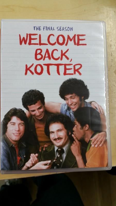 DVD BOX SET DVD WELCOME BACK KOTTER FINAL SEASON