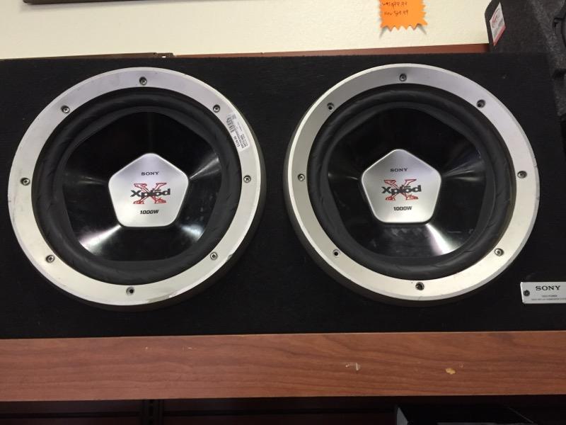 SONY Car Speakers/Speaker System XPLOD 1000W SUBWOOFER