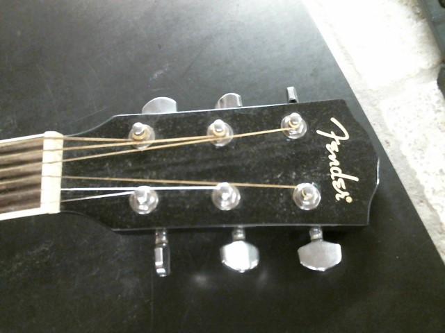 FENDER Electric-Acoustic Guitar CD140SCE BK