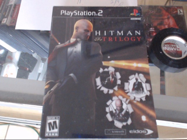 SONY Sony PlayStation 2 Game HITMAN TRILOGY PS2