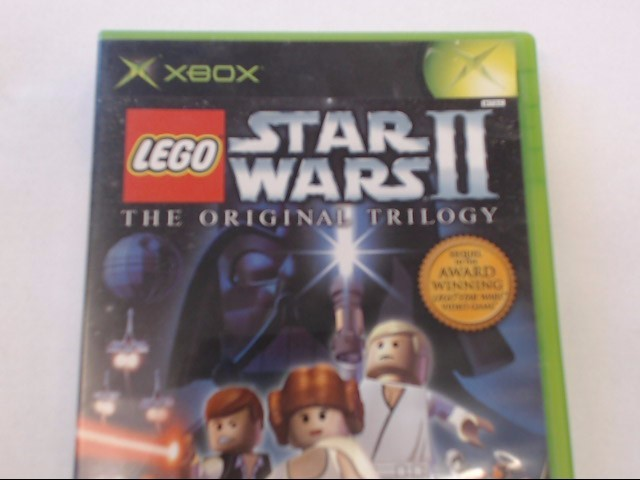 XBOX LEGO STAR WARS II THE ORIGINAL TRILOGY