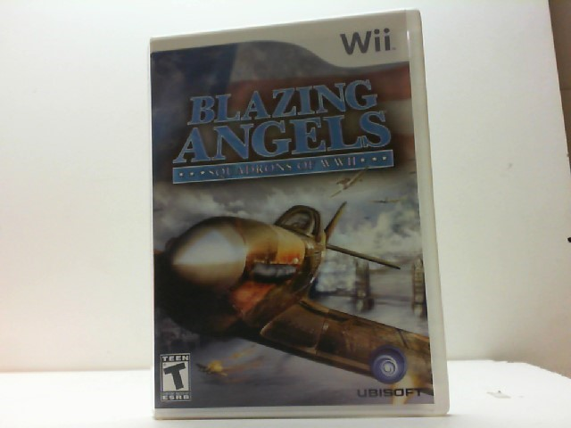 NINTENDO Nintendo Wii Game BLAZING ANGELS SQUADRONS OF WWII