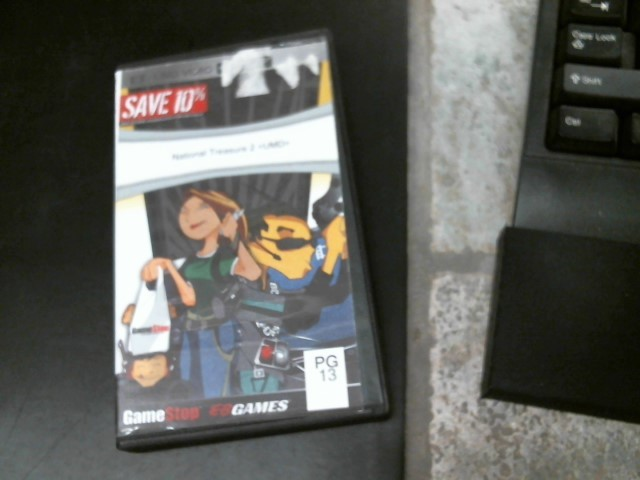 SONY Sony PSP Game NATIONAL TREASURE 2 UMD PSP
