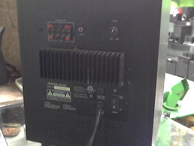 JENSEN Speakers/Subwoofer JS800