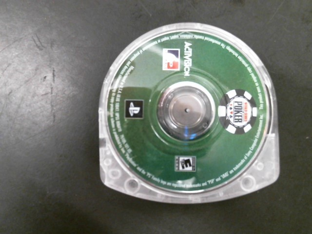 SONY Sony PSP Game PSP WORLD SERIES OF POKER