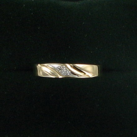 Gent's Gold Ring 14K Yellow Gold 1.3dwt