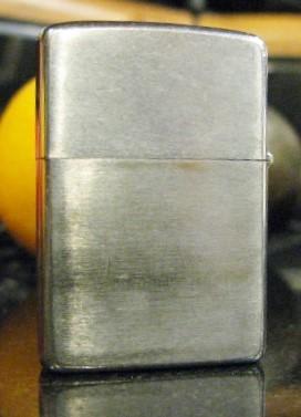 1969 Brushed Chrome Zippo Lighter, Marked III II  Bradford, PA