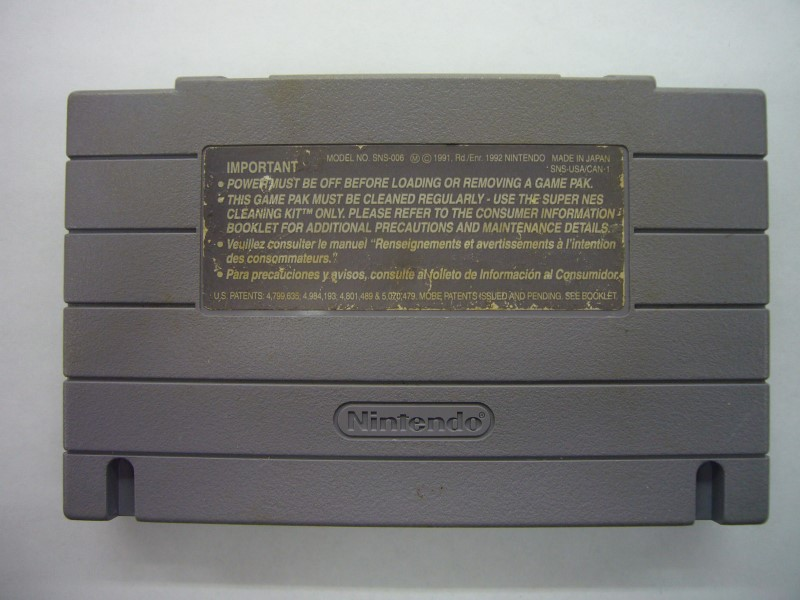 """NINTENDO SNES TOP GEAR 2 """"GAME ONLY"""""""