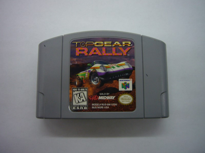 NINTENDO 64 Game TOP GEAR RALLY *CARTRIDGE ONLY*