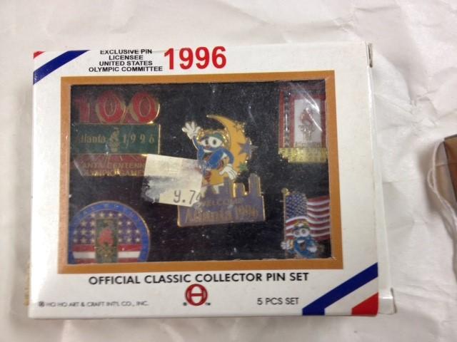 1996 OLYMPICS COLLECTOR PIN SET