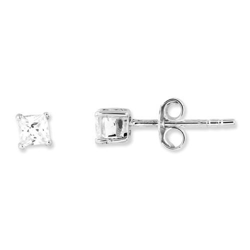 Silver Earrings 925 Silver 1.25g