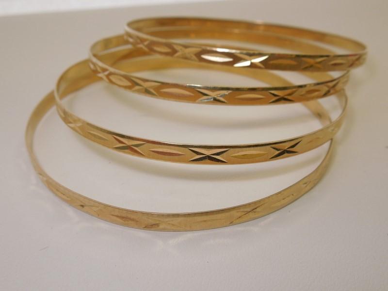 Gold Bracelet 14K Yellow Gold 24g
