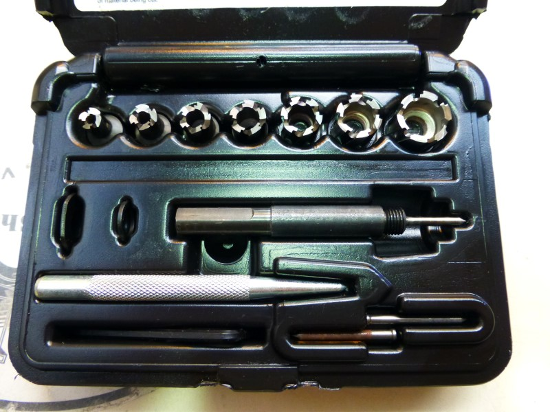 Hougen 11075 Rotacut Sheet Metal Hole Cutters Like New Buya