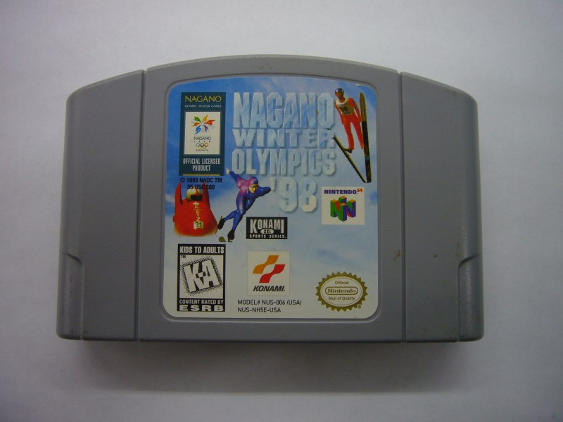 NINTENDO 64 Game NAGANO WINTER OLYMPICS 98 *CARTRIDGE ONLY*
