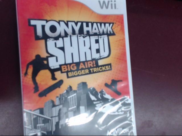 NINTENDO WII TONY HAWK SHRED BIG