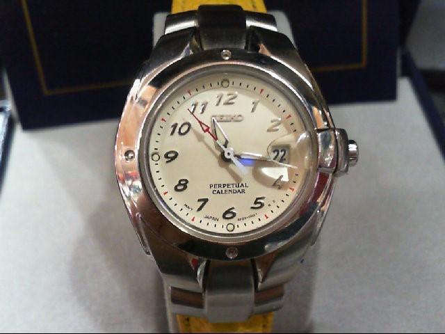 SEIKO Lady's Wristwatch 4F32-0039