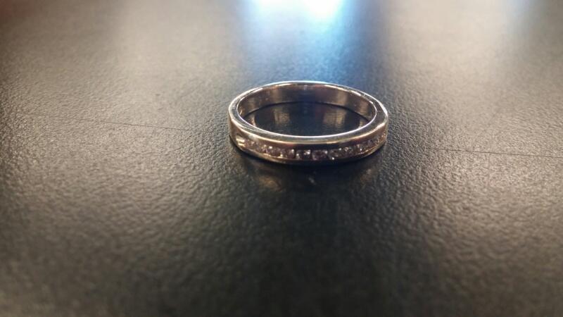 Lady's Diamond Fashion Ring 12 Diamonds .12 Carat T.W. 14K Yellow Gold 2dwt