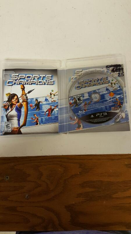 Sports Champions (Sony PS3, 2010)  FREEE SHIPPING