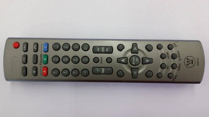 WESTINGHOUSE RMV-01 TV REMOTE