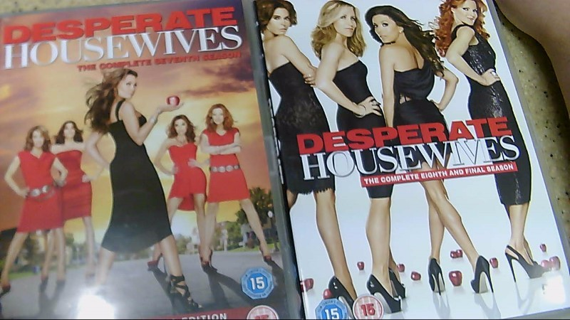 European Version Desperate Housewifes S 1-8 DVD Box Set Region 2