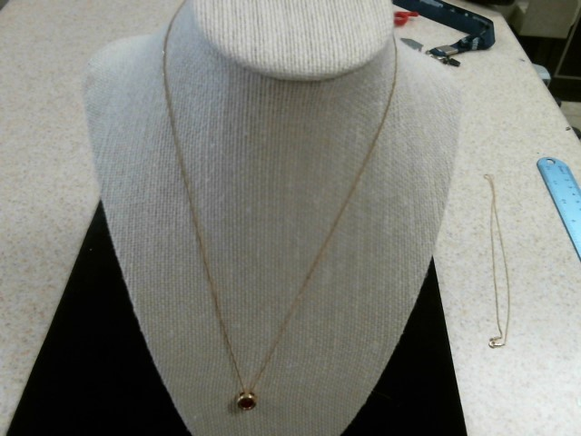 "20"" Gold Link Chain 10K Yellow Gold 0.7dwt"