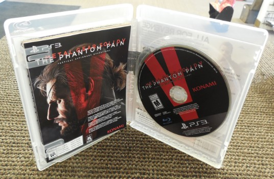 PS3 METAL GEAR SOLID V THE PHANT