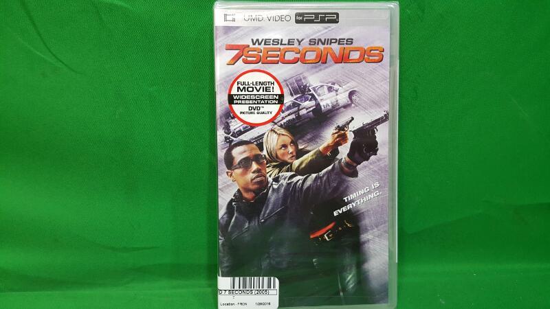 DVD MOVIE UMD 7 SECONDS (2005)